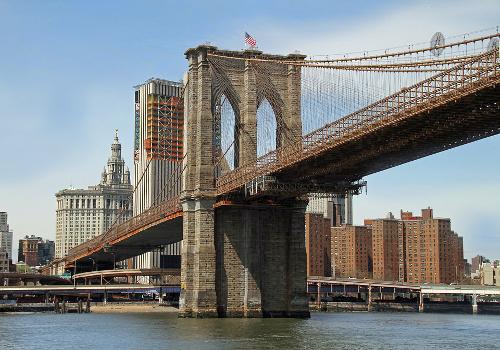 New York con i bambini Viaggio a New York per famiglie-ponte di Brooklyn2