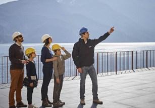 lago di garda per bambini Centrale Idroelettrica- Riva--visite
