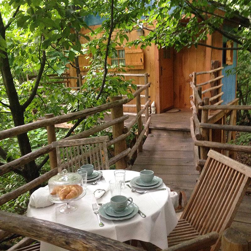 casa sull'albero giardino semplici cune piemonte