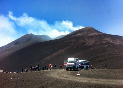 Escursione Etna-crateri sommitali