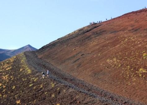 Escursione Etna-salita ai sommitali