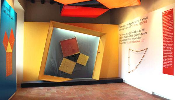 Mateureka-museo della matematica-teorema di Pitagora