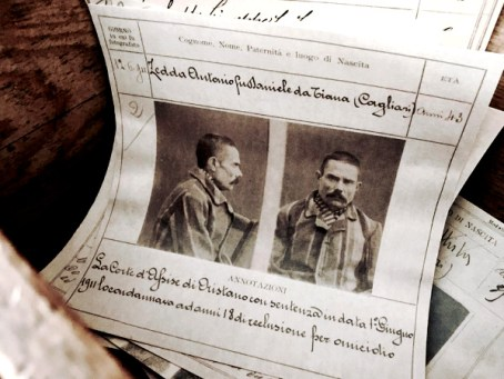 Museo del banditismo-foto segnaletiche