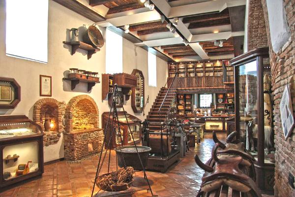 Museo della Liquerizia Amarelli-interni