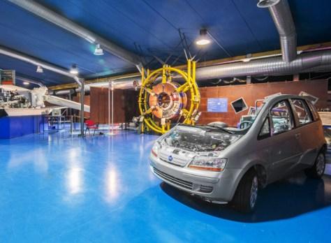 Museo della Tecnica Elettrica-dentro le automobili
