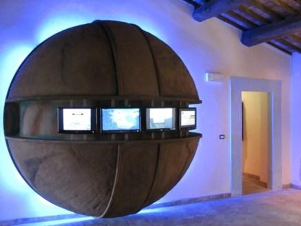 Museo geologico e delle frane_sala_1_video
