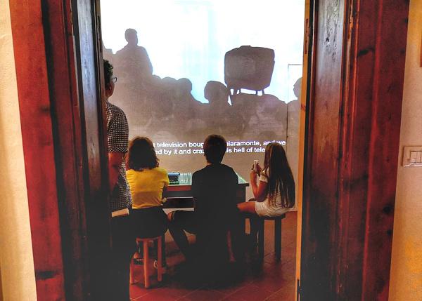 Piccolo Museo del Diario-proiezioni