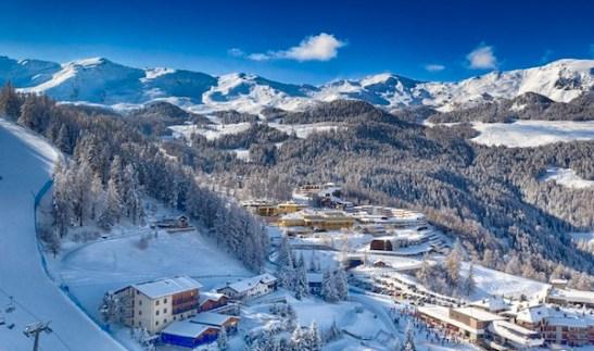 sciare con i bambini pila valle d'aosta
