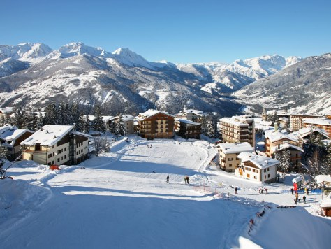 sciare con i bambini via lattea sauze d'oulx