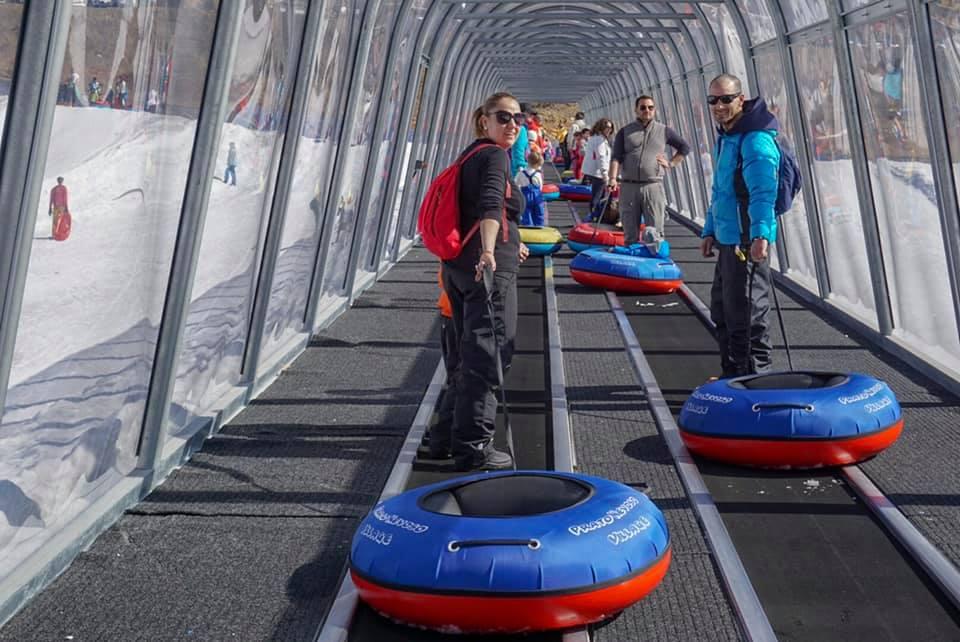 sciare con i bambini gli hotel direttamente sulle piste prato nevoso village