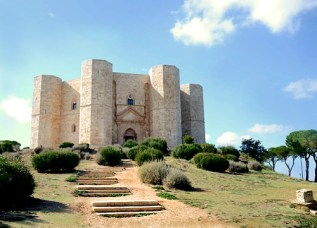 Castel del Monte-vista