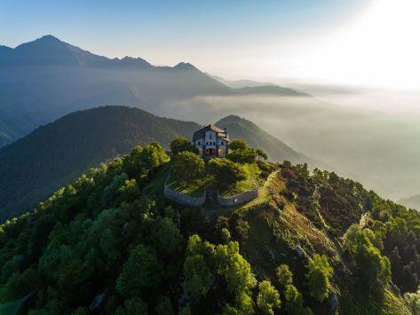 weekend piemonte bambini oasi zegna santuario di san bernardo