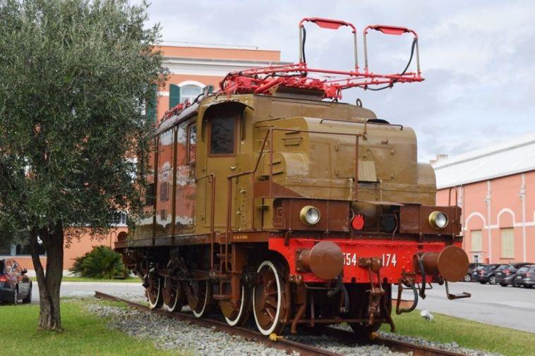 museo ferroviario piemontese - motrice