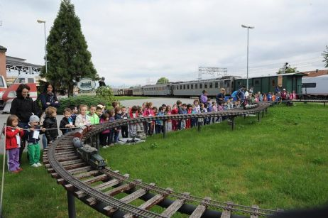 museo ferroviario piemontese - plastico esterno