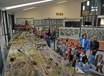 museo ferroviario piemontese - plastico