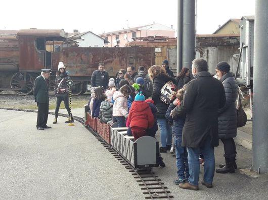 weekend bambini piemonte museo ferroviario piemontese cuneo treni e locomotive a vapore laboratori eventi