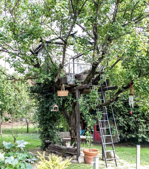 La casa sull'albero, Casa di Scorta Bergamo