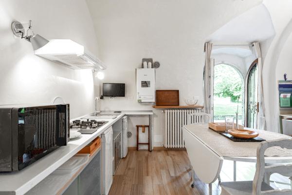 La Casa di Scorta- cucina-soggiorno