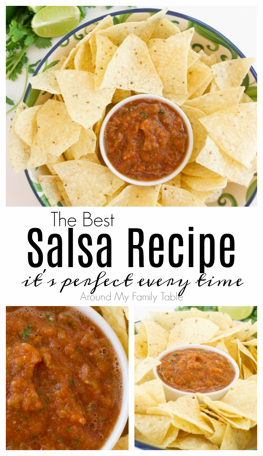 Best Salsa Recipe- perfect every time! via @slingmama