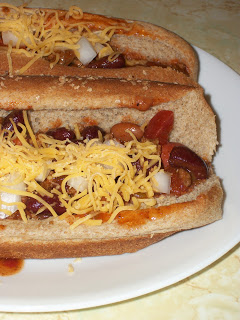 Chili Dogs: Our Halloween Tradition