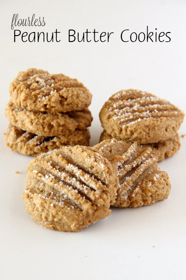 I don't think there is an easier cookie than these 3-ingredient Flourless Peanut Butter Cookies.