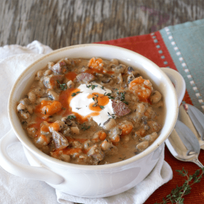 Slow Cooker Black Eyed Pea Soup