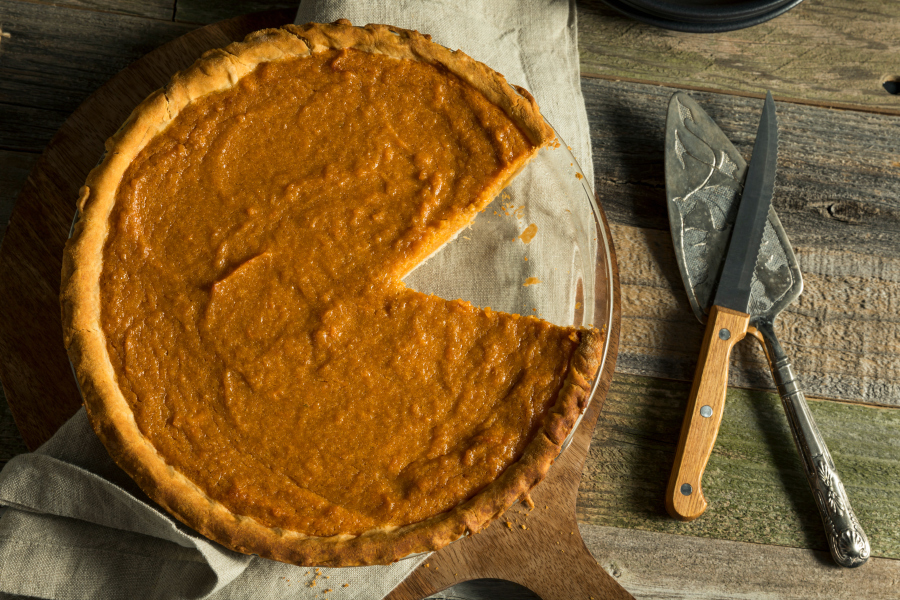 Move over pumpkin pie, this easy Sweet Potato Pie is amazing and has so much more flavor than pumpkin pie.