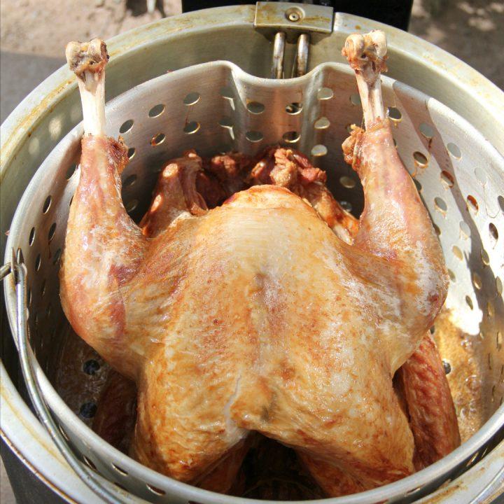 Fried Turkey (How to Deep Fry Turkey)