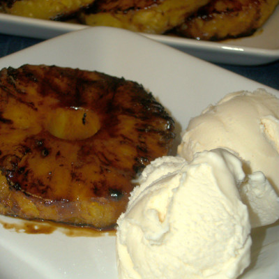 Coconut Grilled Pineapple