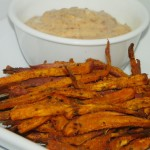 Recipe: Baked Sweet Potato Fries with Chipotle Dipping Sauce