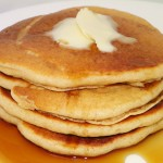 Whole Wheat Blender Pancakes