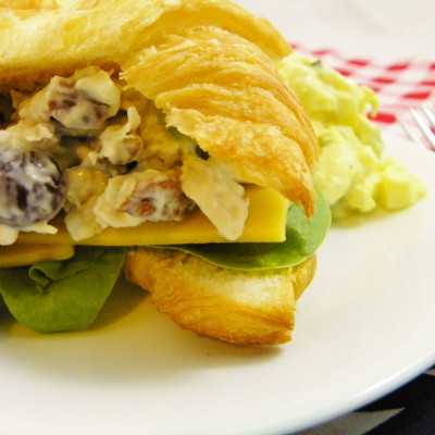 Yummy Chicken Salad with Grapes