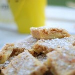Gluten Free Rice Krispies Lemon Bars