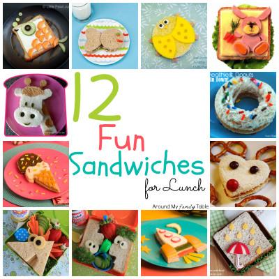 Fun Lunchbox Sandwiches