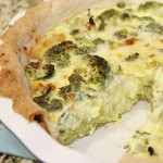 Broccoli Leek Quiche