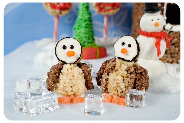 Rice Krispies Winter Wonderland Penguins