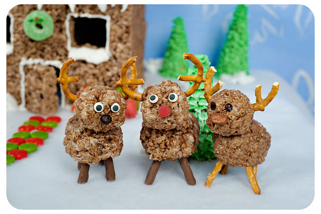 Rice Krispies Winter Wonderland Reindeer