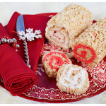 Swirly Peppermint Rice Krispies Roll-Ups