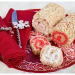 Swirly Peppermint Rice Krispies Roll-Ups