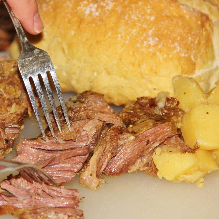 Slow Cooker Pot Roast - Not Your Mama's Pot Roast