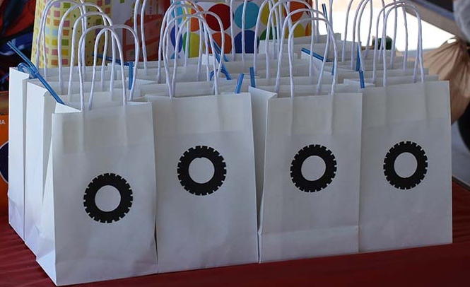 Monster Truck Party Goodie Bags
