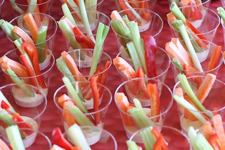 Individual Veggie Cups