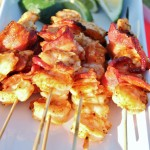 Shrimp and Bacon Kabobs
