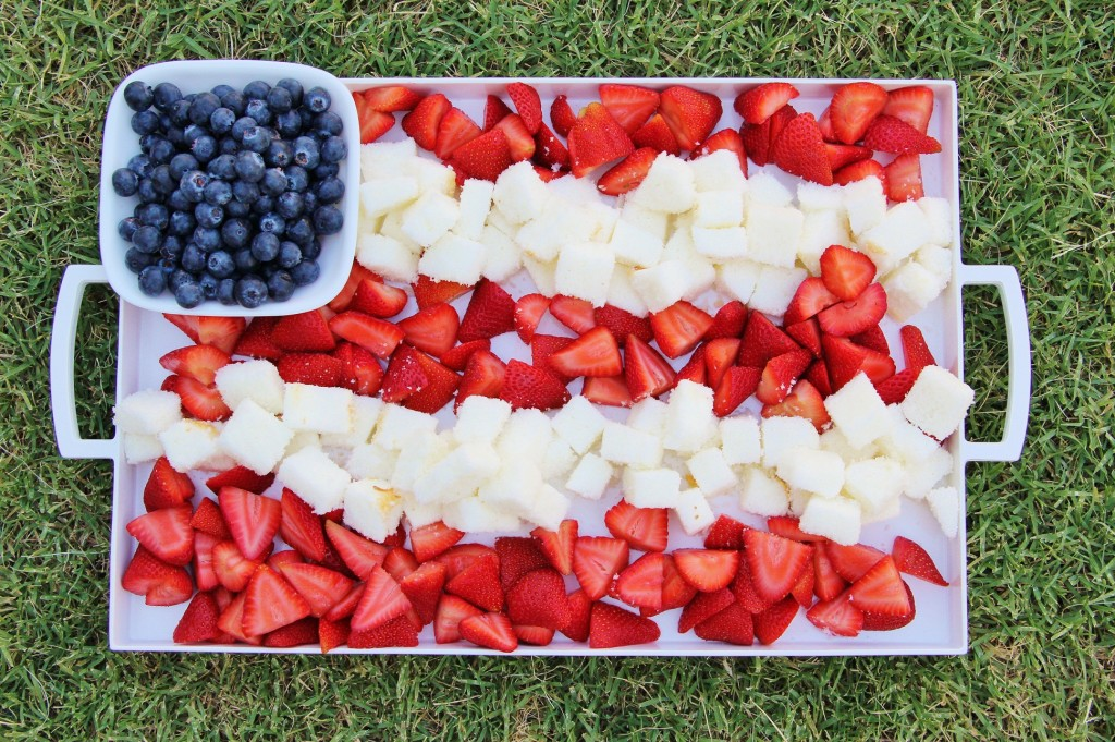 Patriotic Berry Dessert