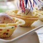 Festive Ice Cream & Cookie Bowls