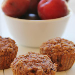 Fresh Plum & Oat Muffins