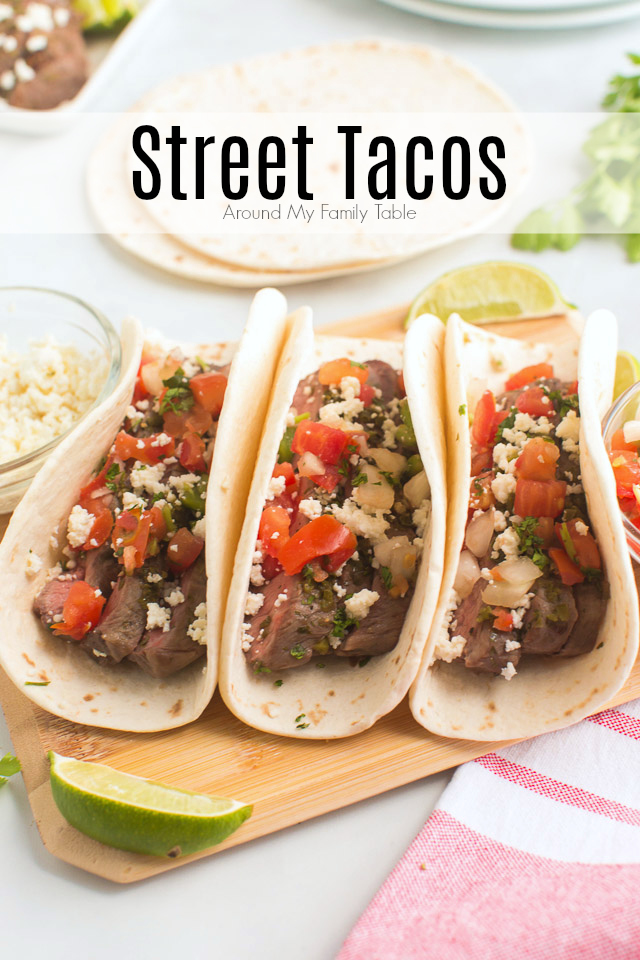 titled image (and shown): Street Tacos