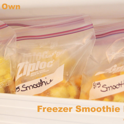 Freezer Smoothie Packets