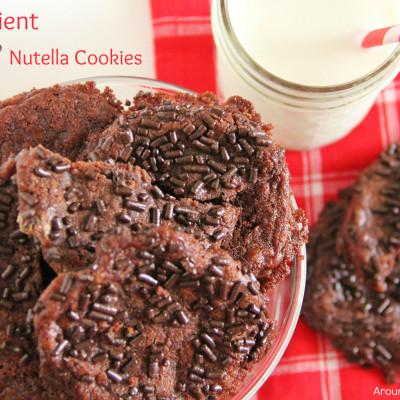 Flourless Nutella Cookies