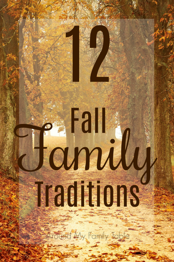 Fall is such a fun time of year.  It's the perfect time to slow down and make some memories.  These Fall Traditions are always something we look forward to every year.